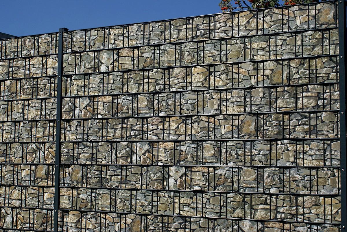 Hadra Zaun Sichtschutz